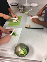 Cooking and Learning in Cheryl Lambert's Classes