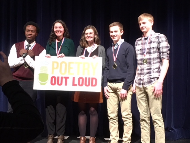 Poetry Out Loud State Finalist Wyatt Bates
