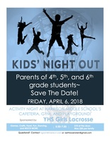 April 6, 2018 Activity Night