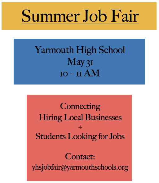 YHS Job Fair - May 31st