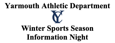 Winter Sports Season Information Night