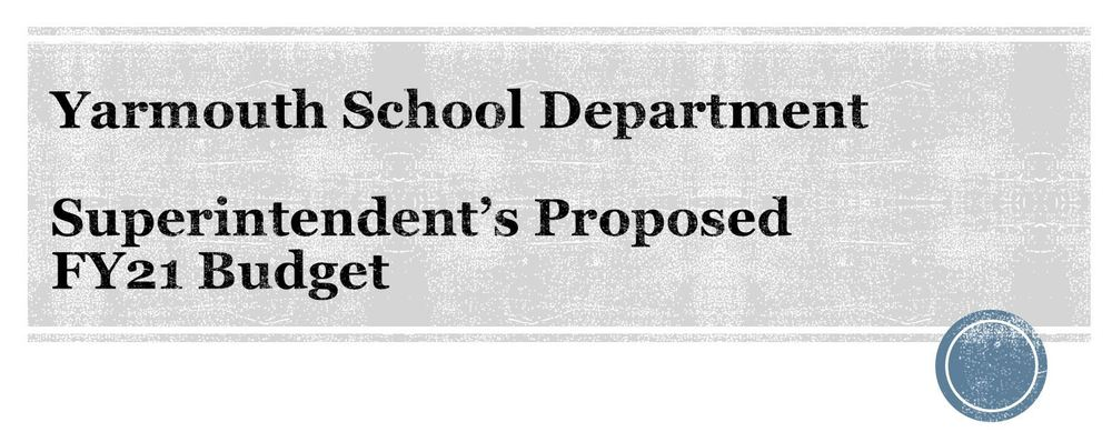 Superintendent proposes 2020-21 budget to School Committee