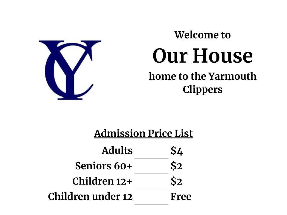 2019-20 Admission Prices