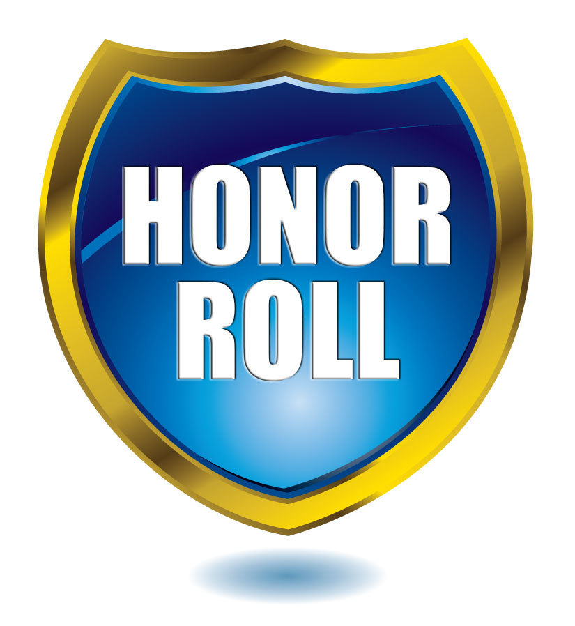 HMS 7th Grade First Trimester Honor Roll