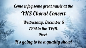 YHS Winter Concerts - Dec. 4th & 5th