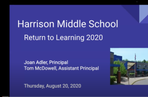 HMS Return to School Community Meeting 2020 (Video Recording)