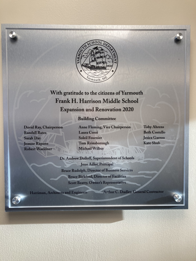 Expansion and Renovation plaque.
