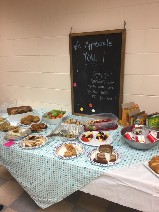 PTO breakfast for our staff
