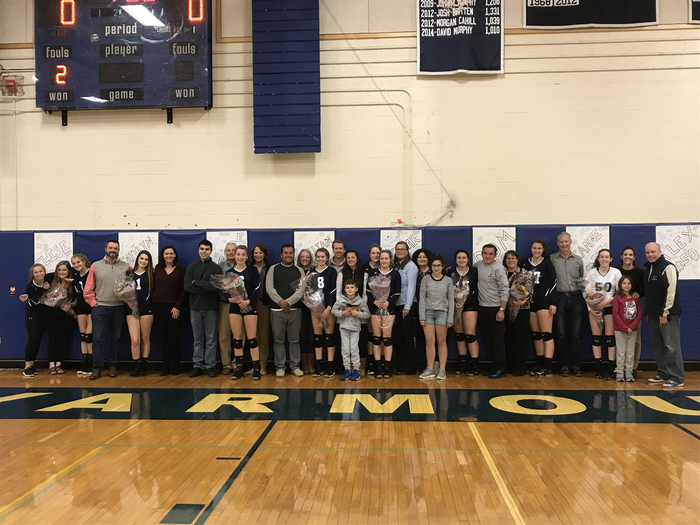 Volleyball families!