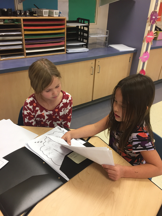 Partners share their writing