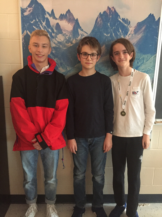 Geo Bee winners