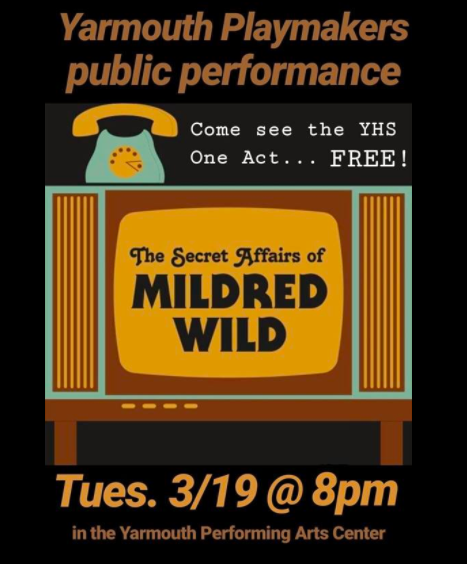 Playmakers Present The Secret Affairs of Mildred Wild