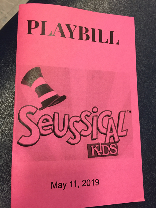 The fifth grade play, Seussical Kids!