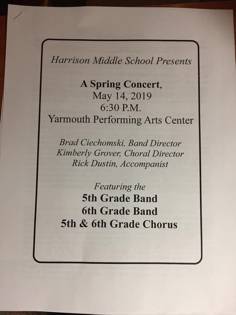 5thand 6th grade concert