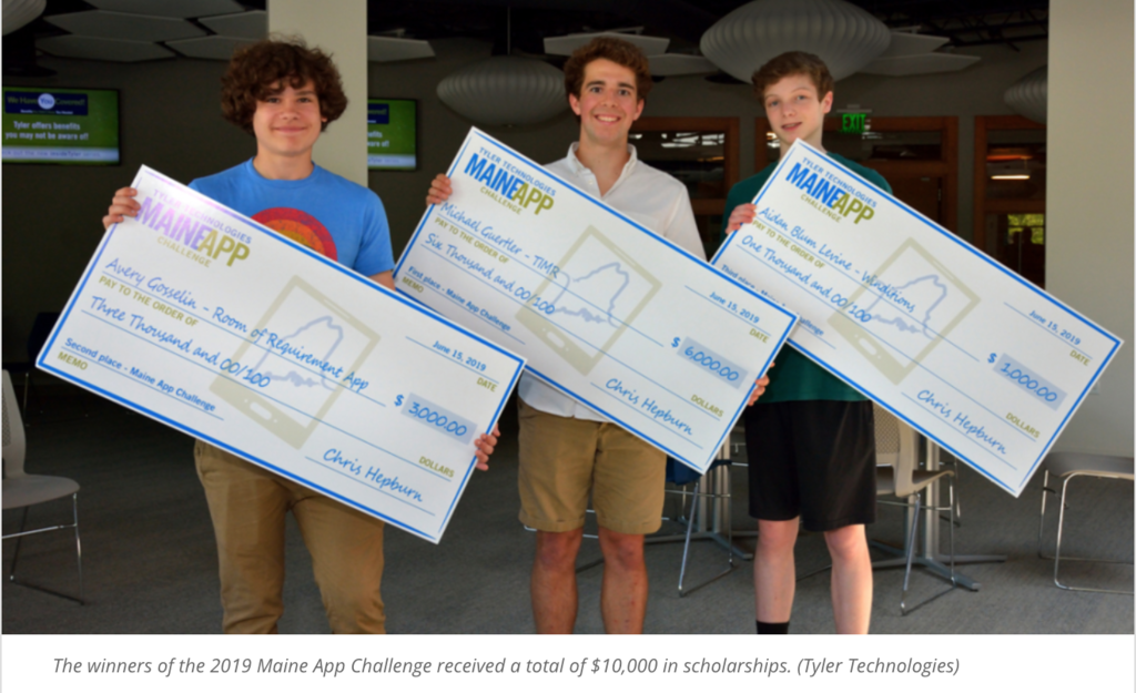 Maine App Challenge winners