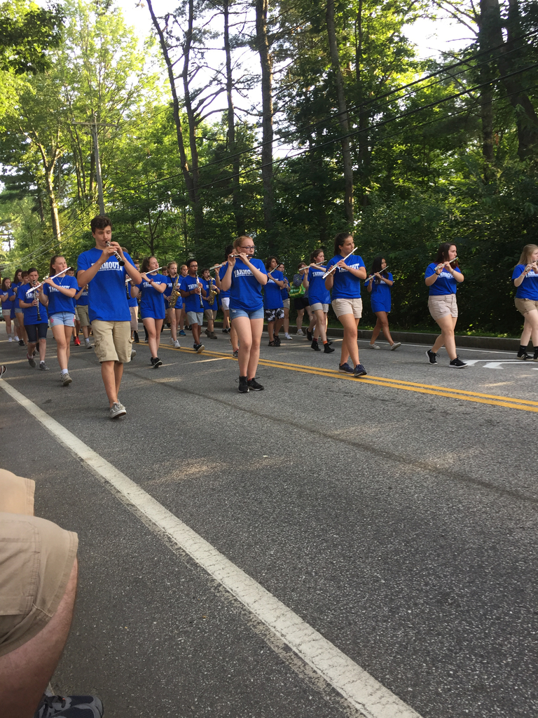 The YHS Marching Band