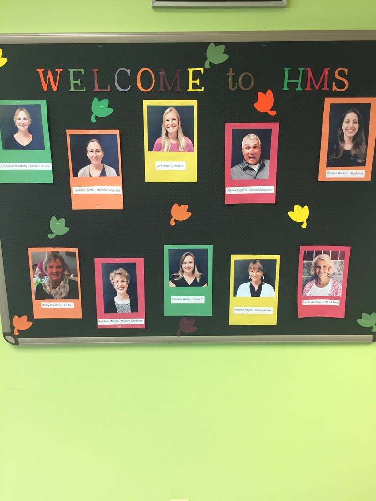 New staff at HMS