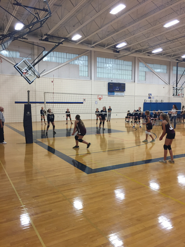 HMS Volleyball team vs. Greely