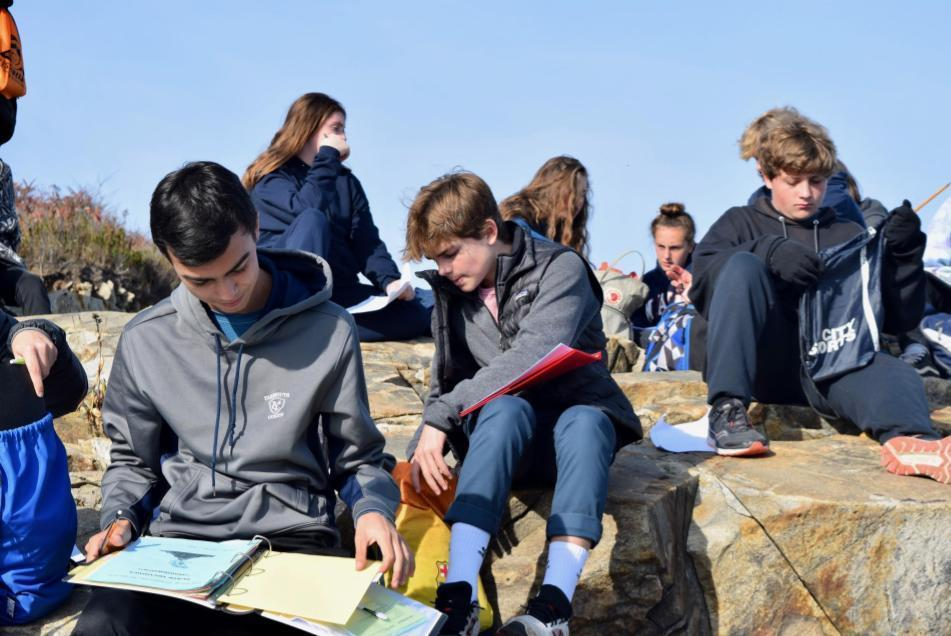 Grade 9 trip to Fort Williams