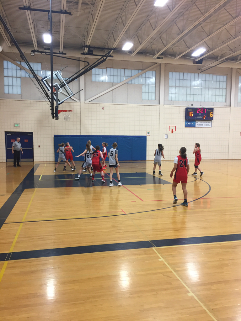 8th grade girls basketball vs. GNG MS