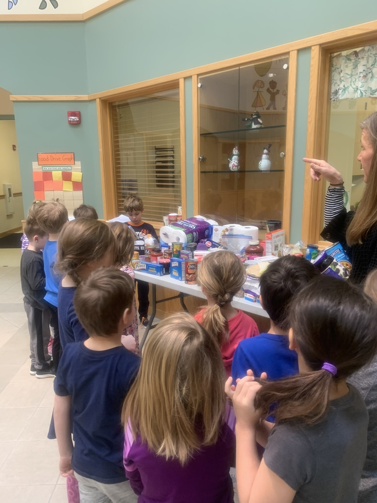 K class delivers items for food drive