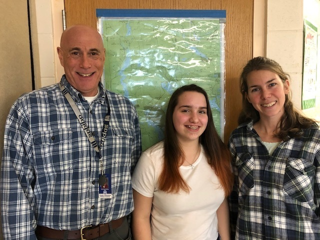 Mr. Warshaw, Kylie Dresser, Ms. McMahon