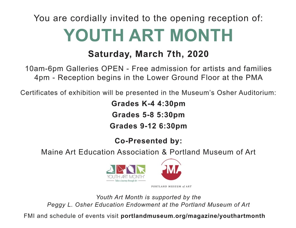 Maine Youth Art Month