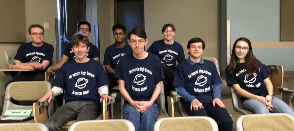 Science Bowl participants