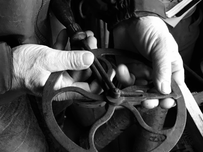 """Working Hands"" by Laura Hamilton '19"