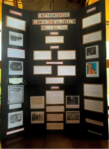 Senior Group Exhibit at the state-wide National History Day!