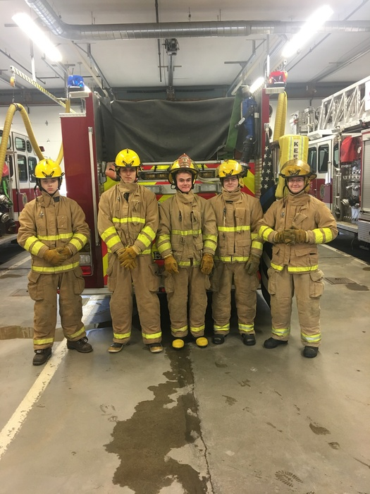 Fire Explorers at YHS