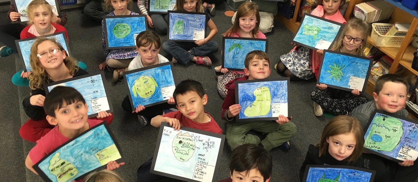 2nd Grade Map Makers