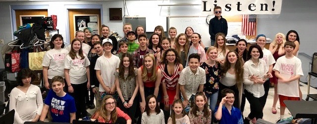 Legally Blonde Jr. Crew and Cast