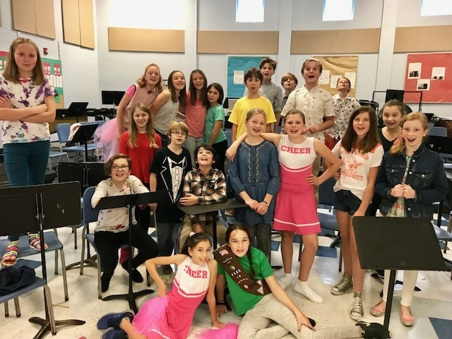 6th Grade Students Bring Dear Edwina to life